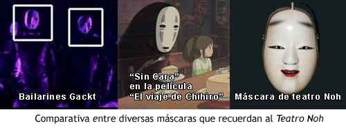 """Gackt, """"Sin cara"""" y el teatro Noh"""