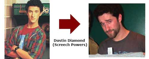 Dustin Diamond - Screech Powers