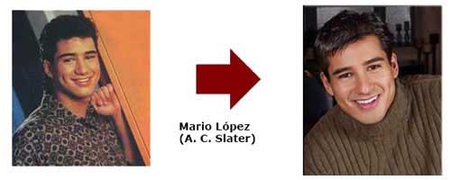 Mario López - A.C. Slater