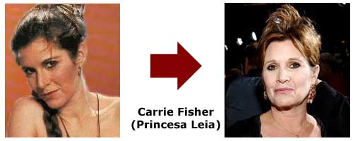 Carrie Fisher - Princesa Leia
