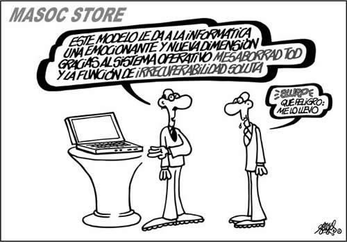 Viñeta de Forges - Masoc Store