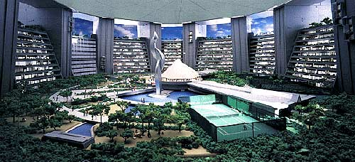 Tokyo's Sky City - Jardin