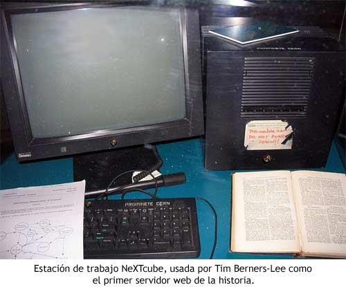 NeXTcube, el primer servidor web