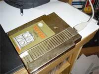 Cartucho de NES como disco duro externo