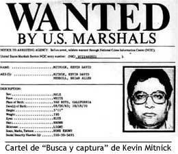Kevin Mitnick - Wanted