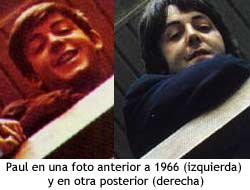Paul McCartney - antes y despues de 1966