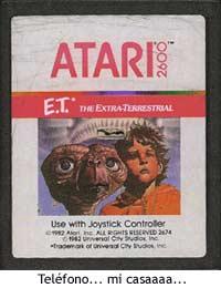 E.T., el cartucho