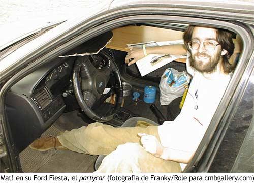Mat! en su coche