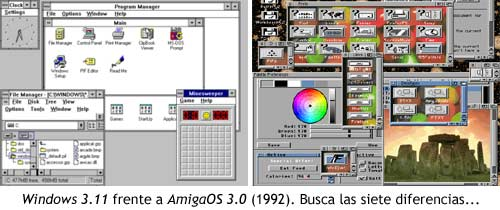 Windows vs AmigaOS