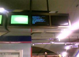 El Metro de Madrid también se cuelga