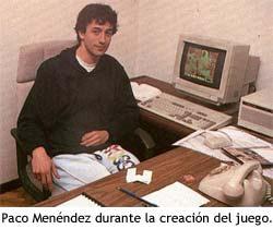 Paco Menéndez, programador de