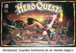 El juego de mesa HeroQuest