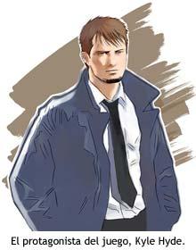 El protagonista del juego, Kyle Hyde