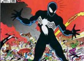El traje negro de Spider-man