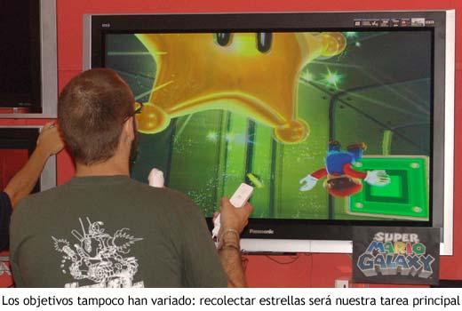 Super Mario Galaxy - Recolectando estrellas