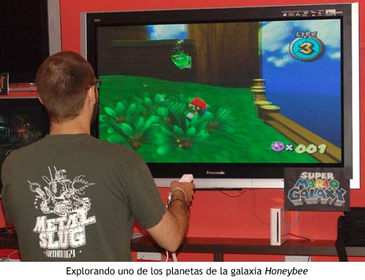 Super Mario Galaxy - Explorando