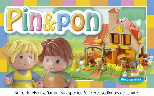 Pin & Pon - Que no os engañe su aspecto