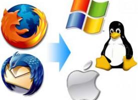 Exportando la configuración de Firefox y Thunderbird en Windows, Mac o Linux