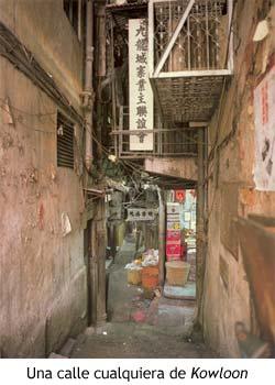 Una calle cualquiera de Kowloon