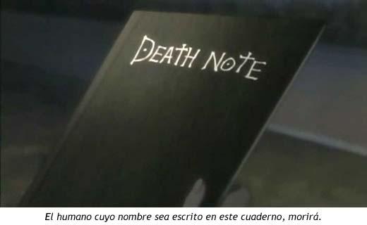 Petición DC; Arma Death_note_cuaderno