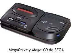 MegaDrive y Mega-CD de SEGA