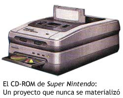 Unidad de CD-ROM de Super Nintendo