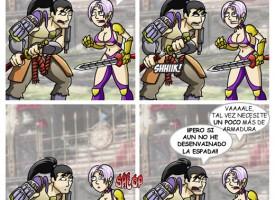 Una pelea cualquiera de Soul Calibur
