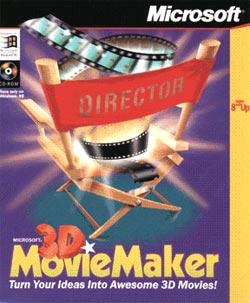 Microsoft 3D Movie Maker (3D Creador de películas)