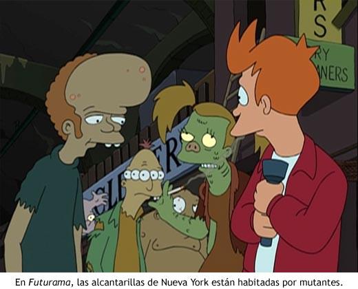 Futurama - Mutantes en las alcantarillas