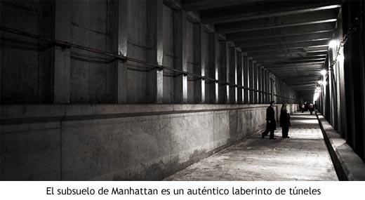 El subsuelo de Manhattan es un auténtico laberinto de túneles