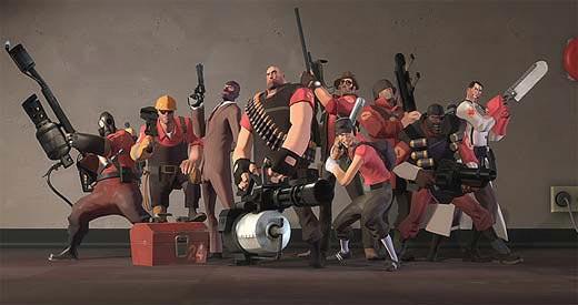 Las clases de Team Fortress 2