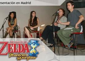 Presentación de 'Zelda: Phantom Hourglass'