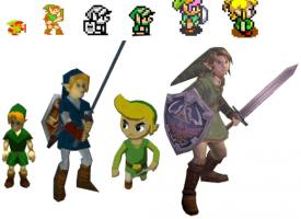 La evolución de Link