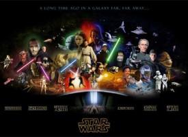 Todo 'Star Wars' en un único poster