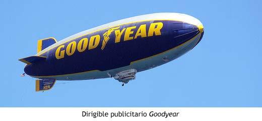Dirigible publicitario Goodyear