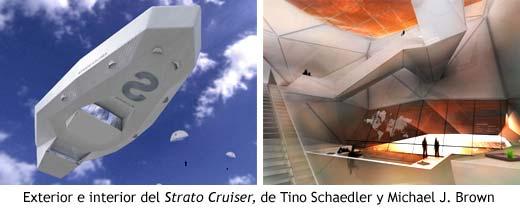 Exterior e interior del Strato Cruiser, de Tino Schaedler y Michael J. Brown
