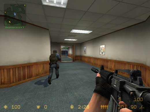 Counter-Strike: Source - Jugando como un equipo