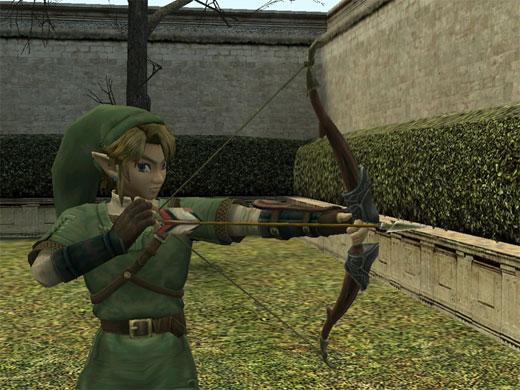 Nuevo Zelda para Wii - Link con el arco