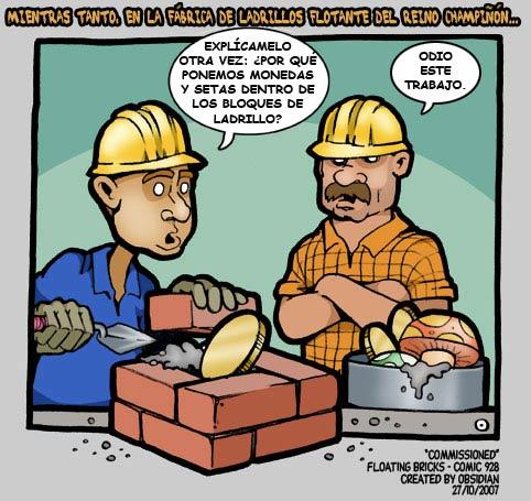 La fábrica de ladrillos del Reino Champiñón