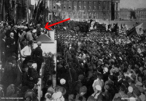 El retoque fotográfico en la Unión Soviética - Discurso de Lenin