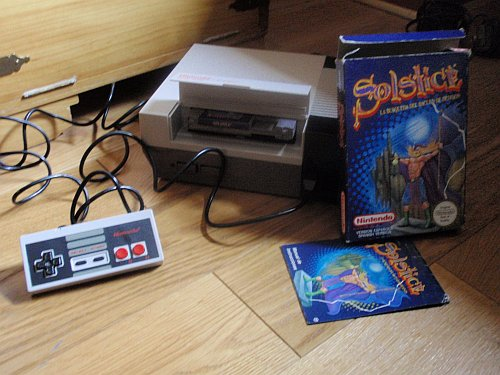 Solstice - NES - NES y juego
