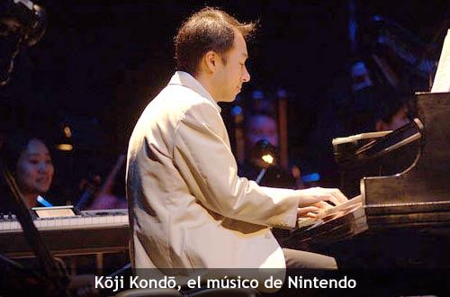 K?ji Kond? al piano