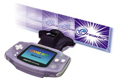Lector e-Reader de Game Boy Advance