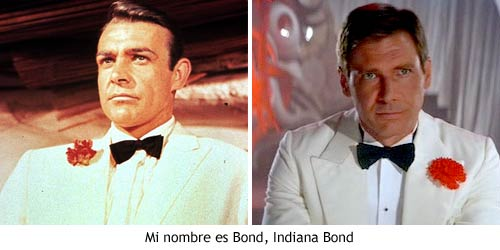 Indiana Jones y el Templo Maldito - Indiana Bond