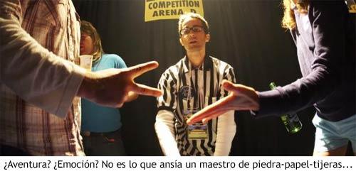 Piedra-papel-tijeras - Competición