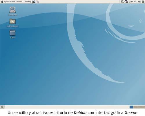Linux - Debian Gnome