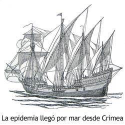 Peste Negra - Barco