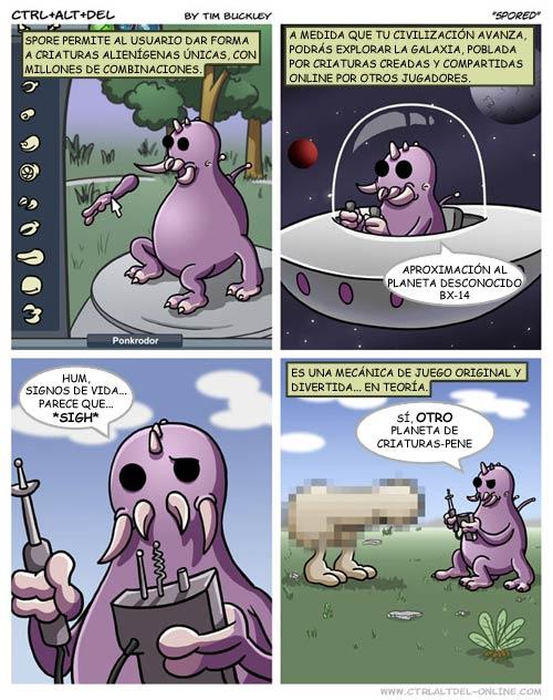 Spore Spore_comic
