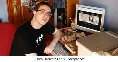 QVMT - Rubén Ontiveros en su despacho