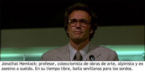 Clint Eastwood en Licencia para matar - Hemlock